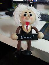 Albert Einstein wooden decorative toy E = MC2