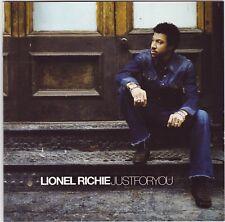 Lionel Richie-Just for You-ALBUM CD MUSICA-LENNY KRAVITZ Daniel Bedingfield