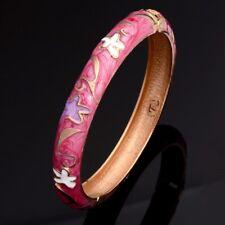f7731865ef7c Brazalete esmalte rosa con estrellas de mar 6 cm de diametro