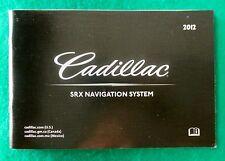 2012 12  Cadillac SRX Navigation System Manual, Near New G7B