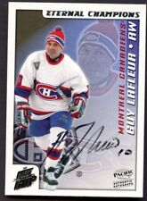 2003-04 Pacific Quest for the Cup # 2 Guy Lafleur AUTO /100 MONTREAL CANADIENS