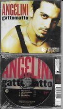 MAXI CD SINGLE 4 TITRES ANGELINI GATTOMATTO DE 2003 NEUF SCELLE EUROPE