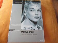 "DVD DIGIPACK ""CASQUE D'OR"" Simone SIGNORET, Serge REGGIANI"