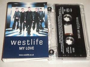 Westlife – My Love Cassette Tape Single If I Let You Go USA Mix