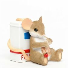 Here To Help You Heal Charming Tails Mouse Figurine #4035611