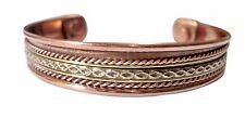 Pure Copper Health Care Magnetic Therapy Open Cuff Bracelet Arthritis Men Women