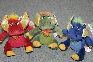 "GUND Ninja Dragons Ka-Pow Sound Animated 6"" Dragons Plush Toy"
