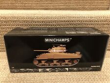 Minichamps 1:35 U.S. M4A3 Sherman Tank, 1st Armored, Tunisia 1943, No. 350040001