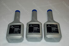 3x BOTTLE NEW GENUINE OEM ACURA Power Steering PUMP OIL 12oz Fluid FOR ALL ACURA