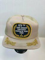 Vintage ATA 89th Grand American Trapshoot Vandalia Ohio 1988 Trucker Hat Cap