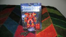 NEW - Blizzard Starcraft Human Firebat Action Figure - Series One 2003 - SEALED