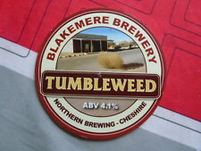"""BLAKEMERE BREWERY """" TUMBLEWEED """"  PUMP CLIP FRONT."""