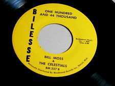 BILL MOSS & CELESTIALS~EVERYTHING IS GOING TO BE ALLRIGHT ~MINT~NORTHERN SOUL 45