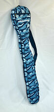 BRINE WOMEN'S GIRLS BLUE LACROSSE STICK BAG CARRYING BAG STICKBAG CASE CAMO New