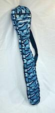Brine Women'S Girls Blue Lacrosse Stick Bag Carrying Bag Stickbag Case Camo New