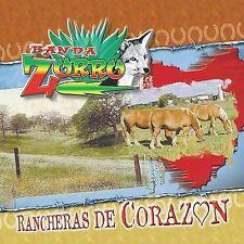 Banda Zorro : Rancheras De Corazon CD