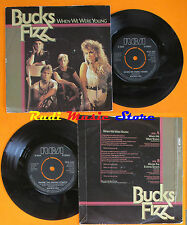 LP 45 7'' BUCKS FIZZ When we were young Where the ending starts (*) cd mc dvd
