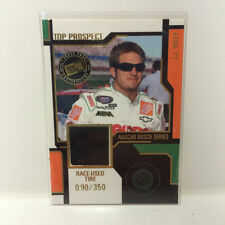 JJ Yeley 2004 Press Pass race used tire card #090/350 JY-T Nascar trading card
