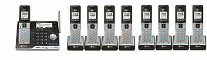 AT&T CLP99553 DECT 6.0 Connect to Cell BLUETOOTH 9 Handset Cordless Phone System