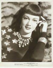 """MARIA MONTEZ in """"Atlantis"""" Original Vintage Photograph 1947 PORTRAIT"""