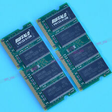 NEW 1GB 2X512MB PC133 133mhz  sdram memory RAM Non-ECC laptop memory 144pin