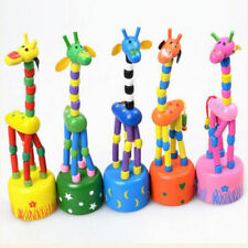 Funny Baby Kids Intellectual Developmental Educational Wooden Giraffe Toy Gift Z