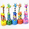 Funny Baby Kids Intellectual Developmental Educational Wooden Giraffe Toy Gift Z