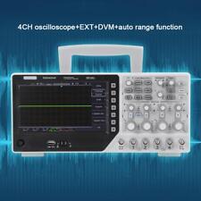 "Kit 220V DSO4254C Digitale Oscilloscopio 64K 4CH 250MHz EXT+DVM 7"" TFT 1GSa/s"