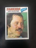1977 TOPPS #280 CATFISH HUNTER HOF NY YANKEES— PACK FRESH💥*** (wph)