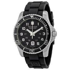 Victorinox Swiss Army 241435 Maverick GS Men's Black Rubber Watch  NEW