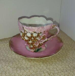 Beautiful Antique Tea Cup and Saucer