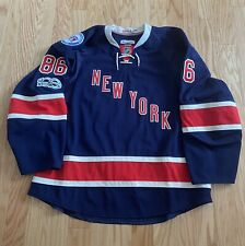 2017 New York Rangers Team Issued Heritage Jersey w/ 90th anniv & NHL100 patches