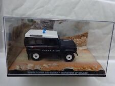JAMES BOND 007 CAR COLLECTION LAND ROVER DEFENDER - QUANTUM OF SOLACE ISSUE 65