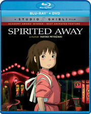 Spirited Away (Blu-ray+Dvd 2Pack, 2017) New/Sealed >>Free Fast Shipping>>>