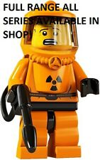 Lego hazmat guy/radiation suit guy series 4 unopened new factory sealed
