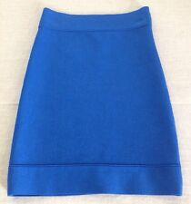 BCBG MAXAZRIA Bandage Power Sweater Skirt Larkspur Blue NWOT XX-Small XXS / XS