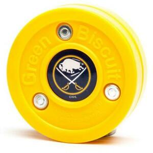 Green Biscuit NHL Buffalo Sabres Puck