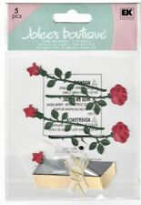 JOLEE'S BOUTIQUE RED ROSES DIMENSIONAL STICKERS  BNIP