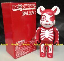 Medicom 2006 Be@rbrick Balzac 400% Horror Atom-Age Vampire Red bearbrick