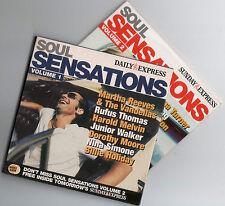 SOUL SENSATIONS - PROMO 2 CD SET (2005) RUFUS THOMAS, DOROTHY MOORE, NINA SIMONE