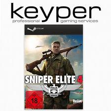 Sniper Elite 4 Uncut Steam-Account PC Download, kein Key/Code