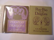 Poo-Poo and the Dragons, C S Forester, Robert Lawson, DJ, 1942, 2nd Edition