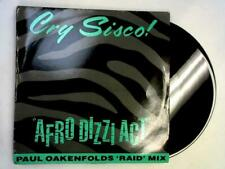 Afro Dizzi Act (Paul Oakenfold Mix) 12in (Cry Sisco! - 1989) AWOLTX 1 (ID:15498)