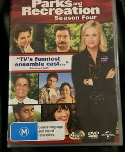 Parks And Recreation : Season 4 : (2012 : 4 Disc DVD Set) Brand New Sealed R4