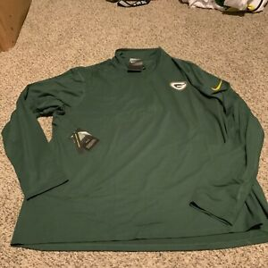 Nike Green Bay Packers Element 1/2 Zip Pullover Men's Size: 3XL NWT