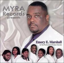 New: Emory E. Marshall & the Perfecte: Marshall, Emory E & Perfected-N-Praise Ch