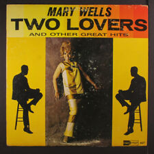 MARY WELLS: Two Lovers LP (Mono, address at bottom of label, wobc, some cw)