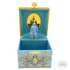 Authentic Disney Parks Cinderella Musical Jewelry Box Princess Music
