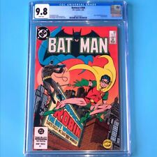 Batman #368 💥 CGC 9.8 WHITE PGs 💥 Jason Todd Becomes 2nd Robin! DC Comic 1984