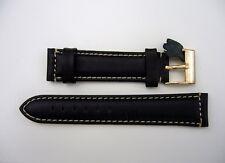 20mm leather wristwatch strap